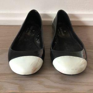 Kate Spade Rubber Flats Size 5
